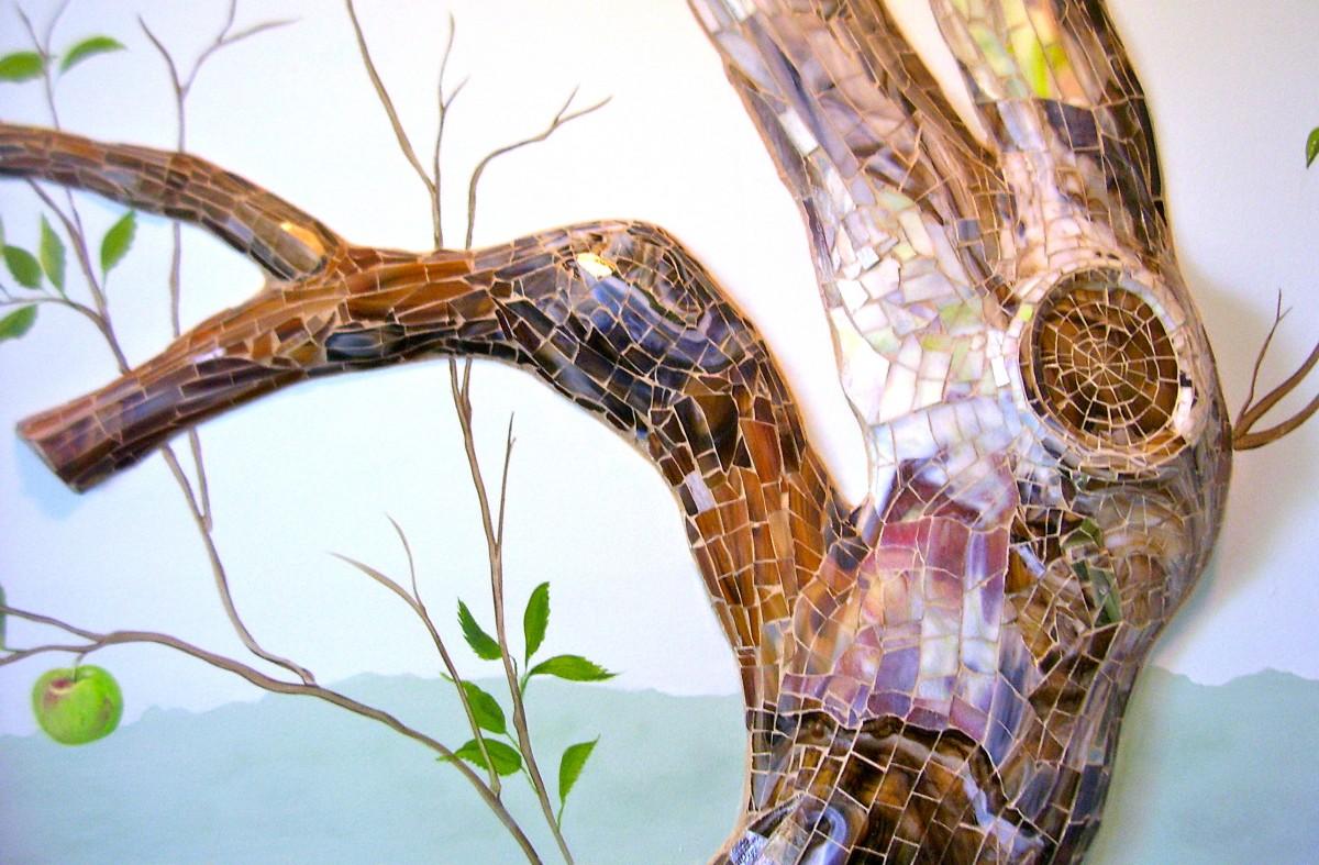 Custom Handpainted Murals Custom Mosaic Sculpted Walls