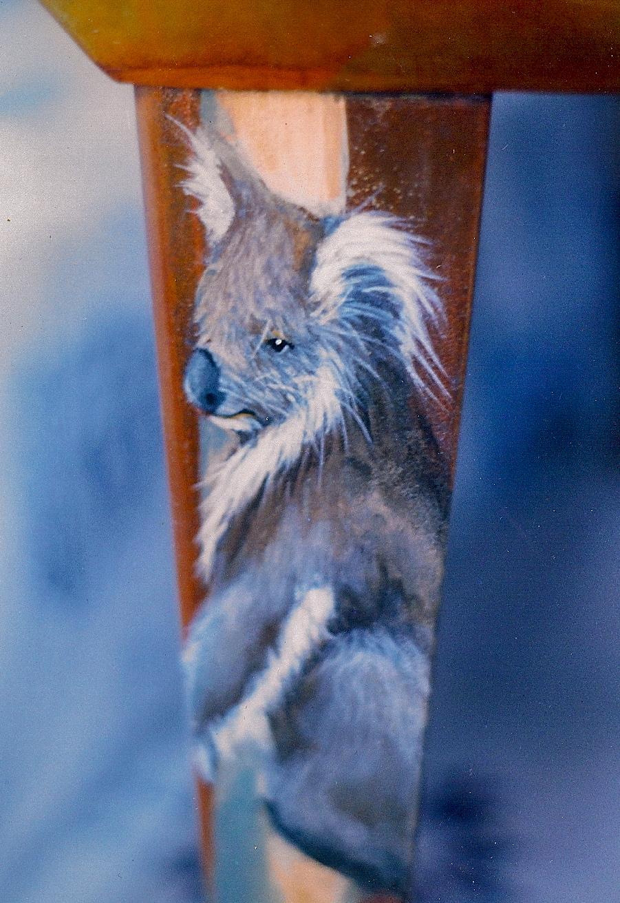 Custom Pet Portraits Decorative Mural Artist Jane Burke