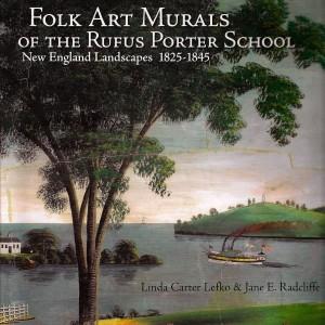 Folk Art murals, Rufus Porter, Hand-painted wall murals,