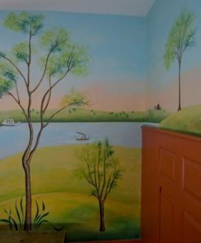 Custom Handpainted Murals Hand Painted Walls Custom